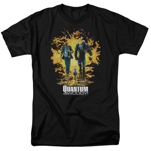 Image for Quantum and Woody T-Shirt - Explosion