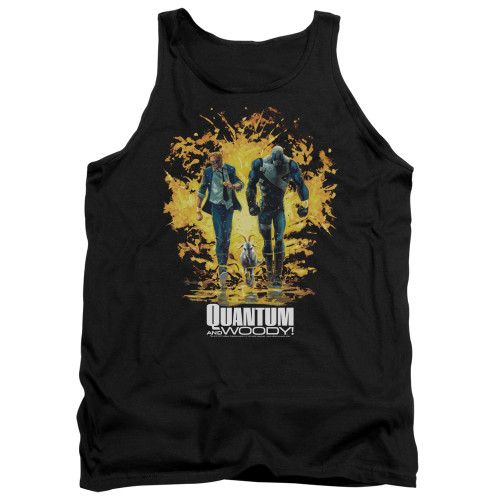 Image for Quantum and Woody Tank Top - Explosion