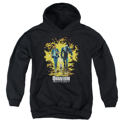 Image for Quantum and Woody Youth Hoodie - Explosion