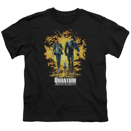 Image for Quantum and Woody Youth T-Shirt - Explosion