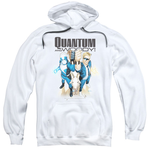 Image for Quantum and Woody Hoodie - Fists Up!