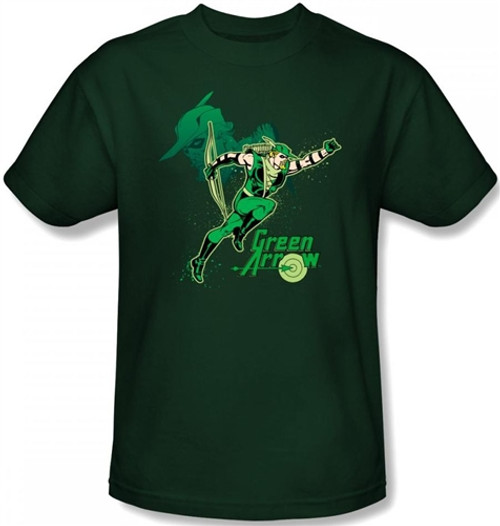 Image for Green Arrow in Action T-Shirt