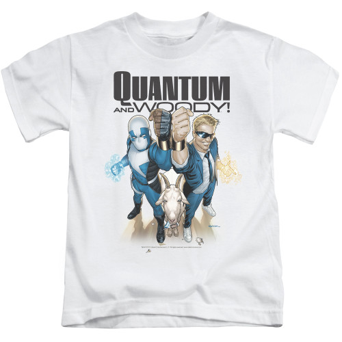Image for Quantum and Woody Kids T-Shirt - Fists Up!