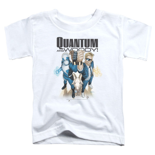 Image for Quantum and Woody Toddler T-Shirt - Fists Up!