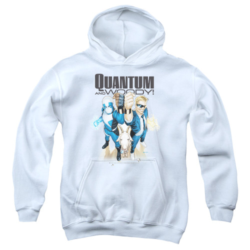 Image for Quantum and Woody Youth Hoodie - Fists Up!