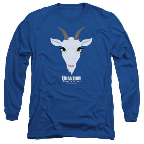 Image for Quantum and Woody Long Sleeve Shirt - Goat Head
