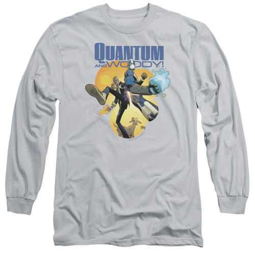 Image for Quantum and Woody Long Sleeve Shirt - Three's a Crowd