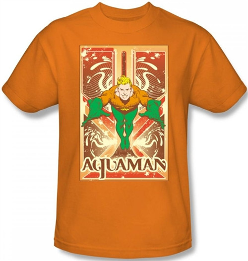 Image Closeup for Aquaman Diving T-Shirt