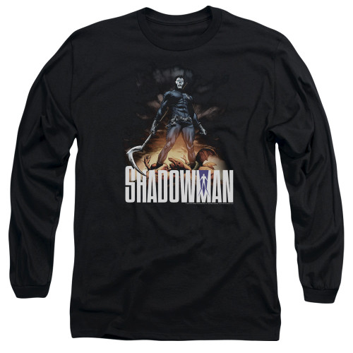 Image for Shadowman Long Sleeve Shirt - Victory