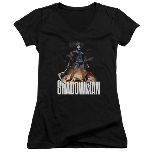 Image for Shadowman Girls V Neck - Victory