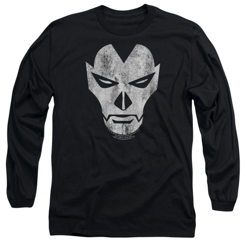 Image for Shadowman Long Sleeve Shirt - Face