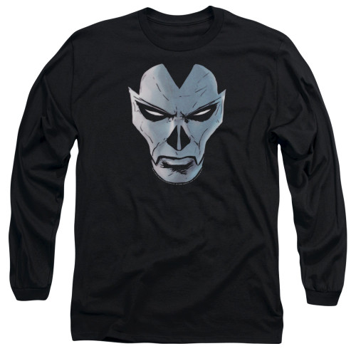 Image for Shadowman Long Sleeve Shirt - Comic Face