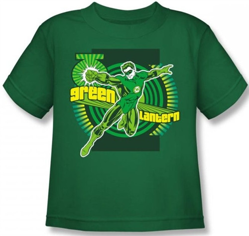 Image for Green Lantern Ring Power Kid's T-Shirt