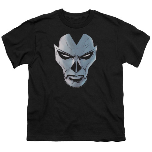 Image for Shadowman Youth T-Shirt - Comic Face