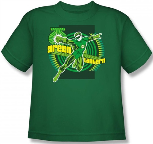 Image for Green Lantern Ring Power Youth T-Shirt