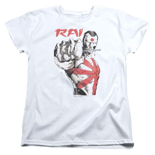Image for Rai Womans T-Shirt - Sword Drawn