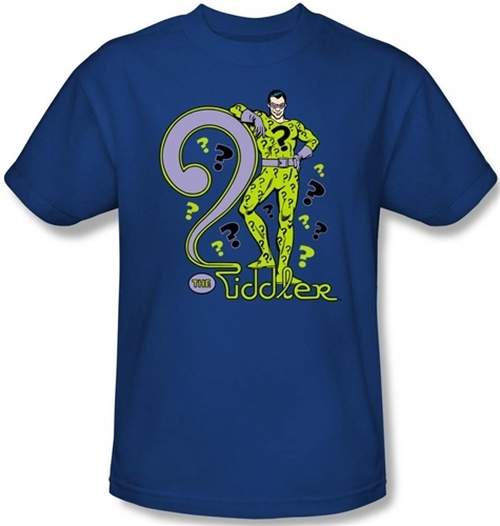 Image Closeup for The Riddler T-Shirt