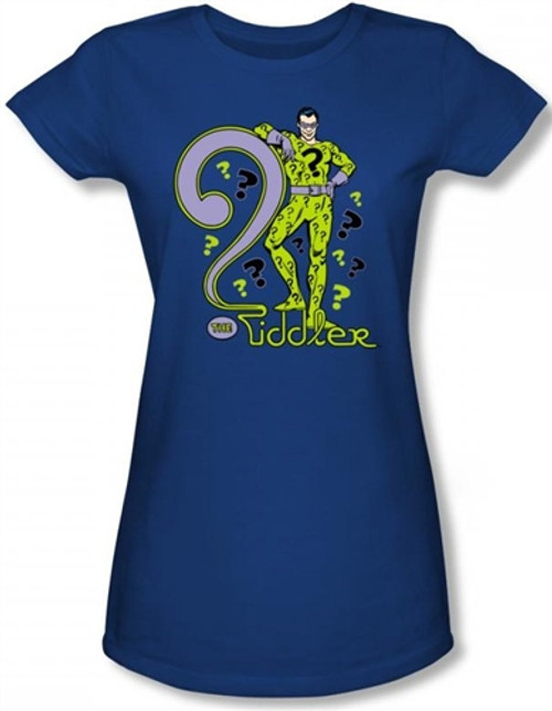Image for The Riddler Girls Shirt