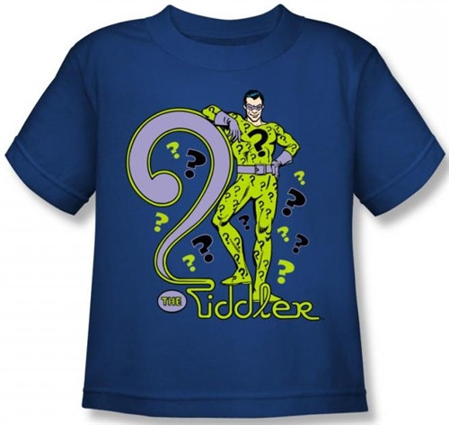 Image for The Riddler Kid's T-Shirt
