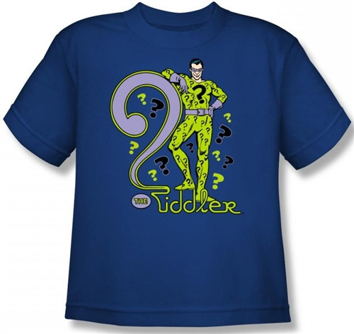 Image for The Riddler Youth T-Shirt