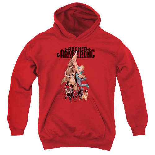 Image for Archer & Armstrong Youth Hoodie - Hang in There