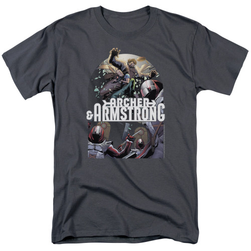 Image for Archer & Armstrong T-Shirt - Dropping In