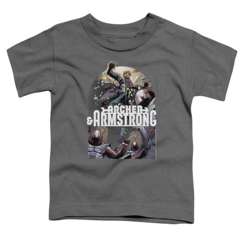 Image for Archer & Armstrong Toddler T-Shirt - Dropping In