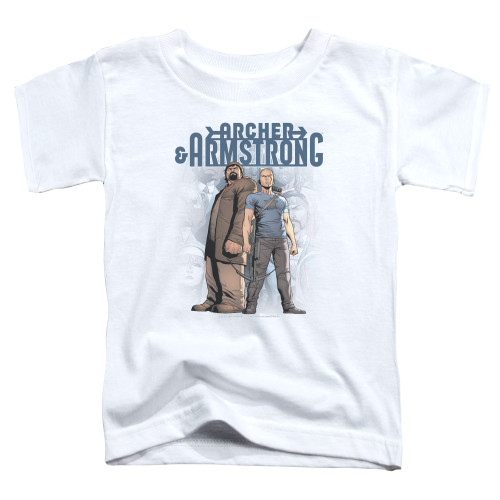 Image for Archer & Armstrong Toddler T-Shirt - Two Against All