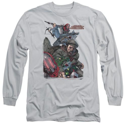 Image for Archer & Armstrong Long Sleeve Shirt - Bottle Smash