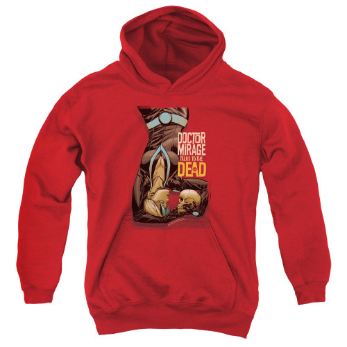 Image for Doctor Mirage Youth Hoodie - Talks to the Dead