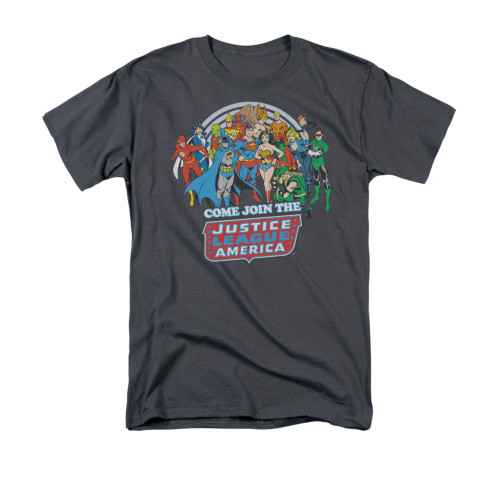 Image for Justice League of America Join the League T-Shirt