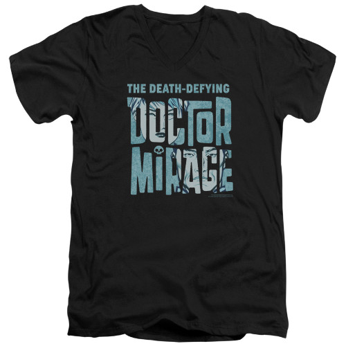Image for Doctor Mirage V Neck T-Shirt - Character Logo