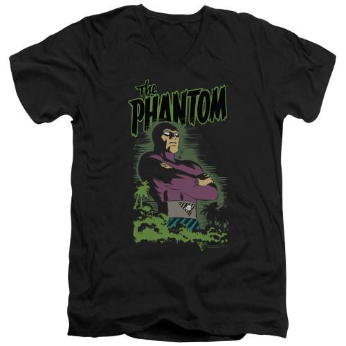 Image for The Phantom V Neck T-Shirt - Jungle Protector