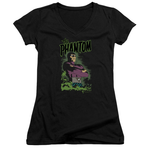 Image for The Phantom Girls V Neck - Jungle Protector