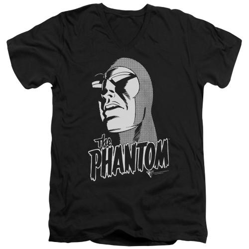Image for The Phantom V Neck T-Shirt - Inked