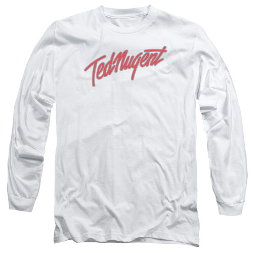 Image for Ted Nugent Long Sleeve Shirt - Clean Logo