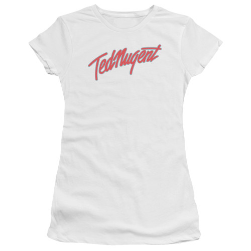 Image for Ted Nugent Girls T-Shirt - Clean Logo