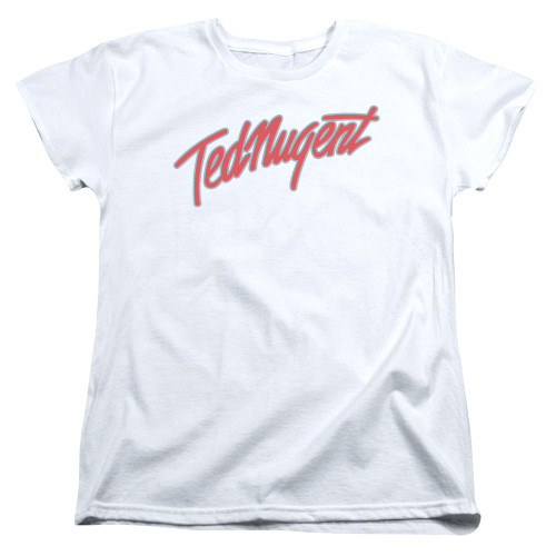 Image for Ted Nugent Womans T-Shirt - Clean Logo