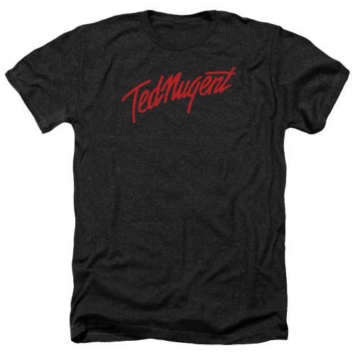 Image for Ted Nugent Heather T-Shirt - Distress Logo
