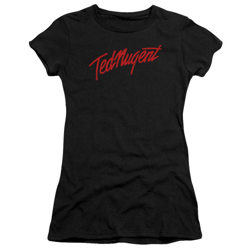 Image for Ted Nugent Girls T-Shirt - Distress Logo