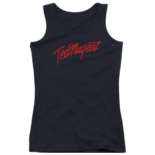 Image for Ted Nugent Girls Tank Top - Distress Logo