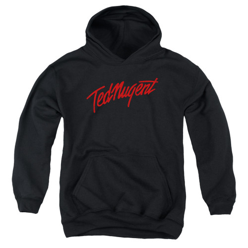 Image for Ted Nugent Youth Hoodie - Distress Logo