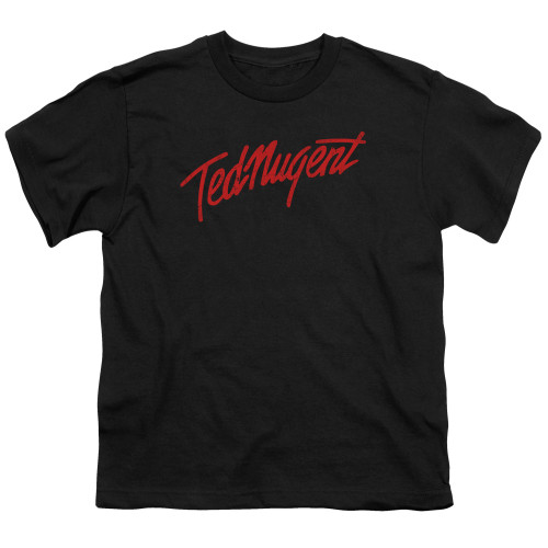Image for Ted Nugent Youth T-Shirt - Distress Logo