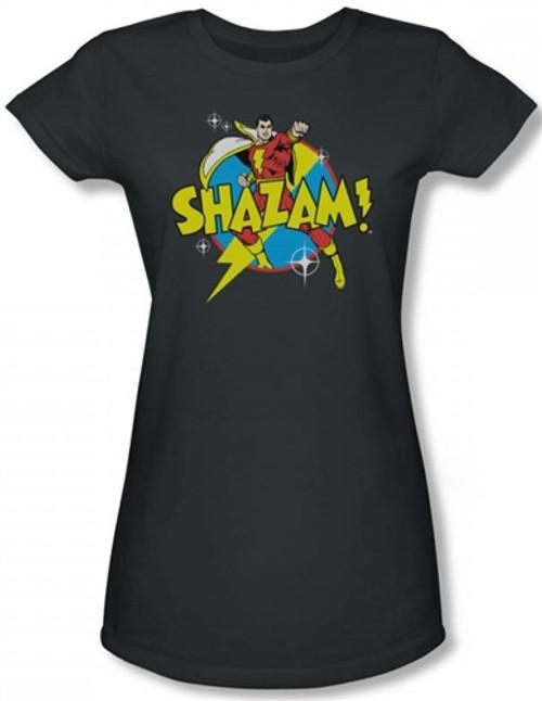 Image for Captain Marvel Power Bolt Girls Shirt