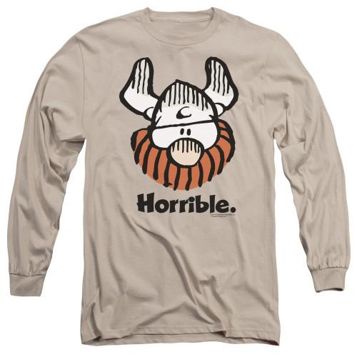 Image for Hagar The Horrible Long Sleeve Shirt - Horrible