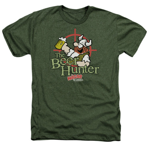 Image for Hagar The Horrible Heather T-Shirt - Beer Hunter