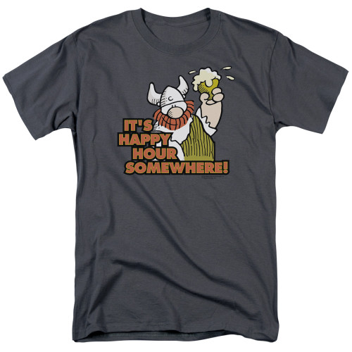 Image for Hagar The Horrible T-Shirt - Happy Hour