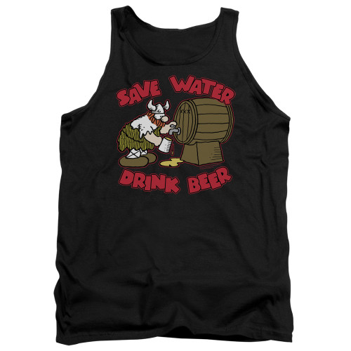 Image for Hagar The Horrible Tank Top - Save Water Drink Beer