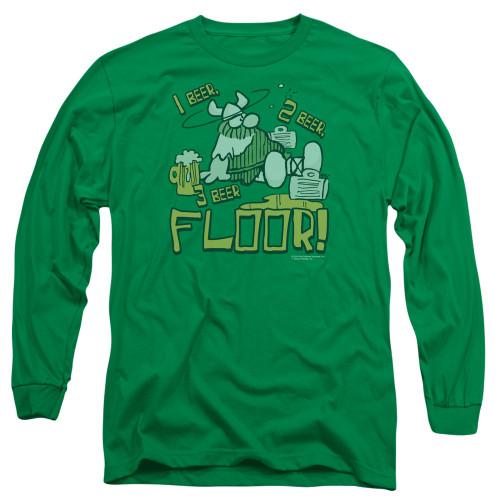 Image for Hagar The Horrible Long Sleeve Shirt - 1 2 3 Floor