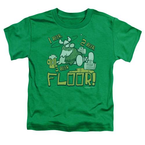 Image for Hagar The Horrible Toddler T-Shirt - 1 2 3 Floor